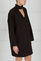Однотонное платье Choker F-Dress Zddz