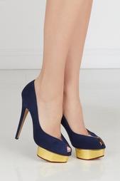 Замшевые туфли Daphne Charlotte Olympia