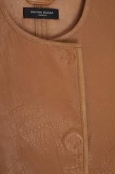 Кожаная куртка Bruuns Bazaar