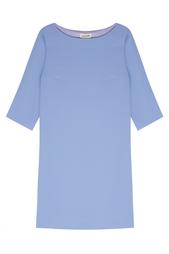 Однотонное платье A LA Russe