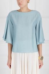Однотонная блузка Pallari