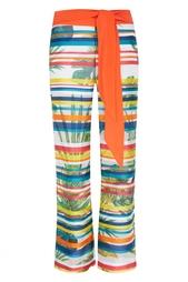 Шелковые брюки Natalia Valevskaya