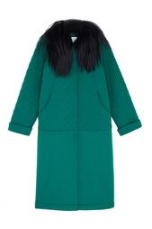 Однотонное пальто Anna Stevar