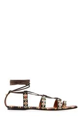 Кожаные сандалии Valentino