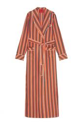 Шелковый халат Izba Rouge