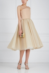 Шелковое платье-бюстье Ester Abner