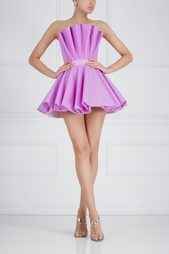 Однотонное платье-бюстье Ester Abner