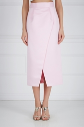 Шелковая юбка-карандаш Ester Abner