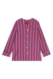 Шелковый пижамный костюм Izba Rouge