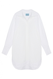 Хлопковое платье-рубашка MoS