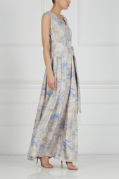 Платье с принтом Pallari