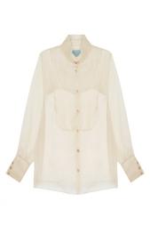 Полупрозрачная блузка MoS