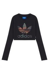 Свитшот с принтом  CROPPED SWEATER Adidas