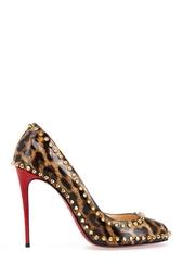 Туфли из лакированной кожи Dorispiky 100 Christian Louboutin