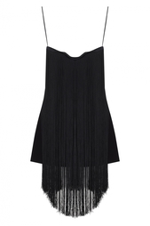 Платье-мини с бахромой Natalia Gart