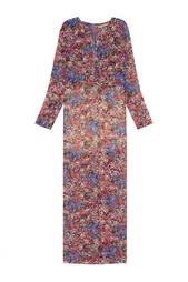 Платье с принтом Daria Bardeeva