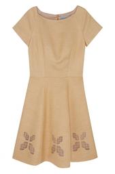 Платье из льна и шелка Natalia Gart