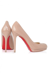 Кожаные туфли New Simple Pump 120 Christian Louboutin