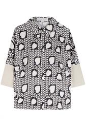Шелковая рубашка Stella Mc Cartney
