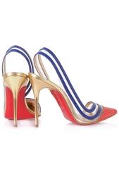Кожаные туфли Paralili 100 Patent/Pvc/Specchio Christian Louboutin