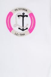 Хлопковый свитшот Olympia Le Tan