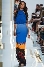 Шелковая юбка Cody Print Diane von Furstenberg