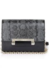 Кожаная сумка Micro Mini Leather Diane von Furstenberg