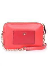 Кожаная сумка Micro Milo Leather Diane von Furstenberg