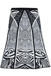 Юбка из вискозы Samara Zebra Tattoo Diane von Furstenberg