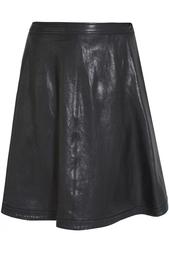Кожаная юбка Riley Diane von Furstenberg