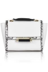 Кожаная сумка Mini Leather Diane von Furstenberg