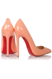 Кожаные туфли Pigalle 120 Patent Calf Christian Louboutin