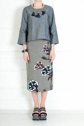 Льняная юбка Marni