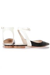 Кожаные туфли Delpozo