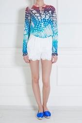 Шелковая блузка Gilmore Habotai Diane von Furstenberg