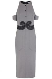 Хлопковое платье Carven