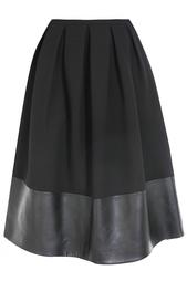 Шерстяная юбка Christopher Kane