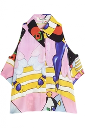 Хлопковая блузка Tata Naka