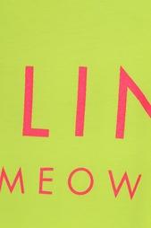 Хлопковая футболка Feline Brian Lichtenberg