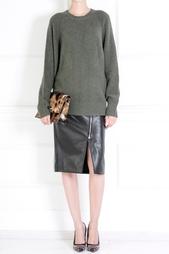 Кожаная юбка Jason Wu