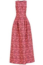 Платье из искусственного шелка и шитья Erdem