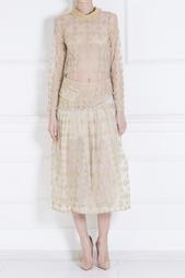 Платье из полиамида и полиакрила Simone Rocha