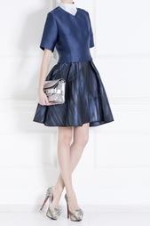Платье из искусственного шелка и шерсти Ostwald Helgason