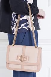 Кожаная сумка Sweet Charity Small Christian Louboutin