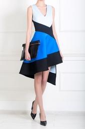 Платье с асимметричной юбкой David Koma