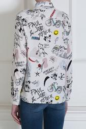 Рубашка с принтом Paul & Joe Sister