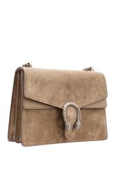 Замшевая сумка Gucci
