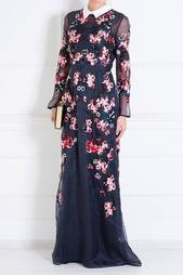 Шелковое платье Erdem
