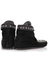 Замшевые ботинки Isabel Marant