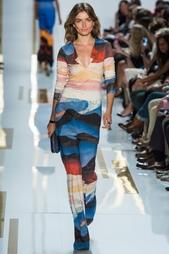 Шелковые брюки Elena Diane von Furstenberg